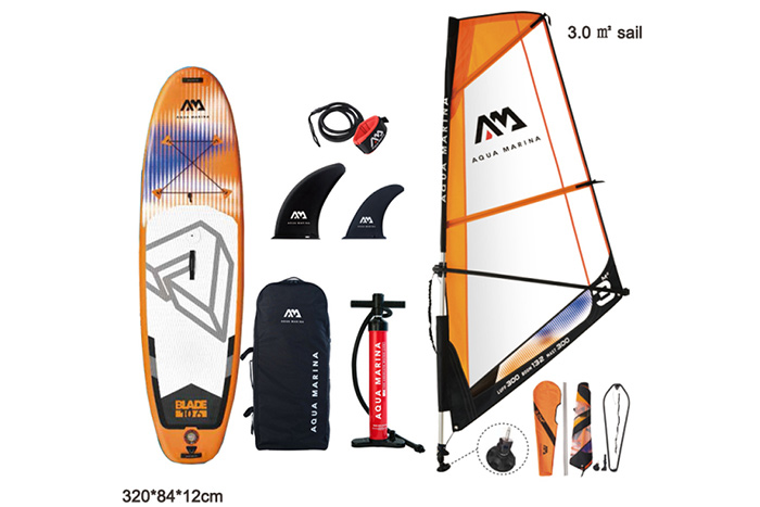 AQUA MARINA BLADE Inflatable SUP Windsurfing Board
