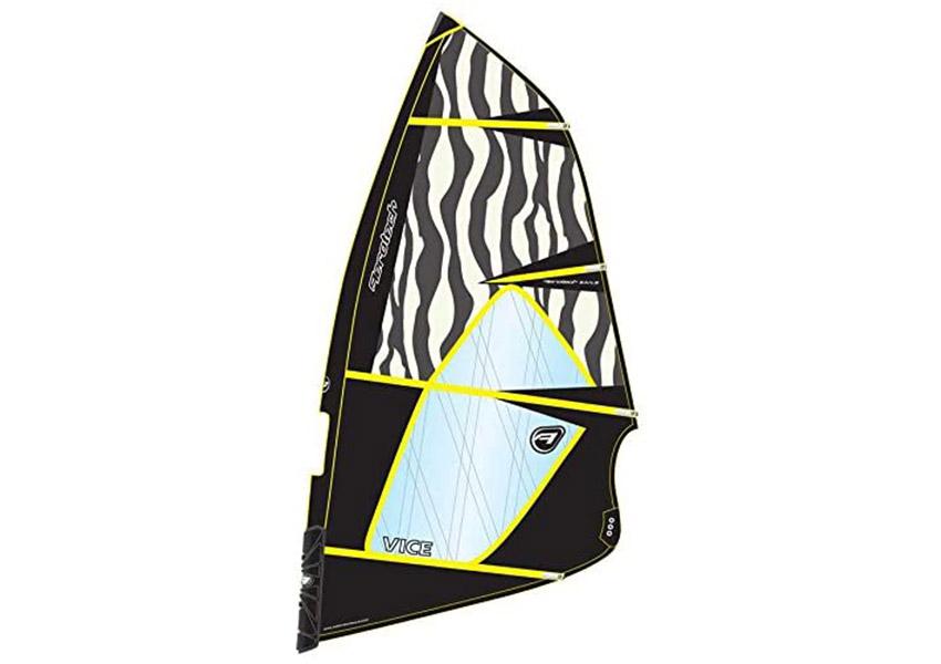 Aerotech Sails 2016 Vice 5.0m Yellow Windsurfing Sail