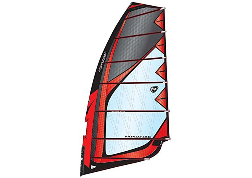 Aerotech Sails 2017 Rapid Fire 6.0m Red Windsurfing Sail