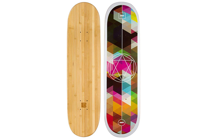 Bamboo Skateboards Graphc Deck