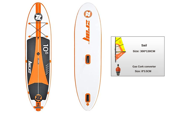 Zray W2 Windsurf Inflatable Paddle Board
