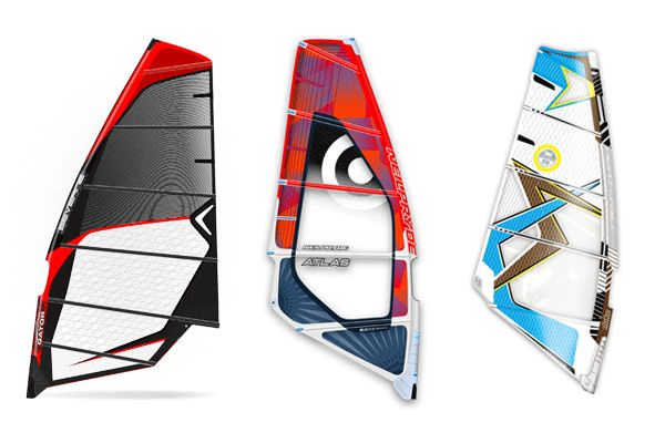 best windsurf sails, best power wave windsurf sails