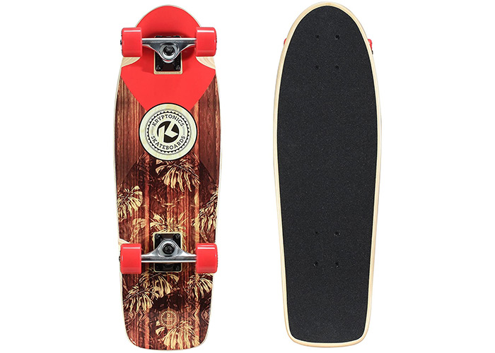 "Kryptonics in-Lay Cruiser 28"" Skateboard"