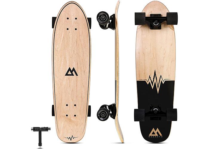 Magneto Mini Cruiser Skateboard - Short Board
