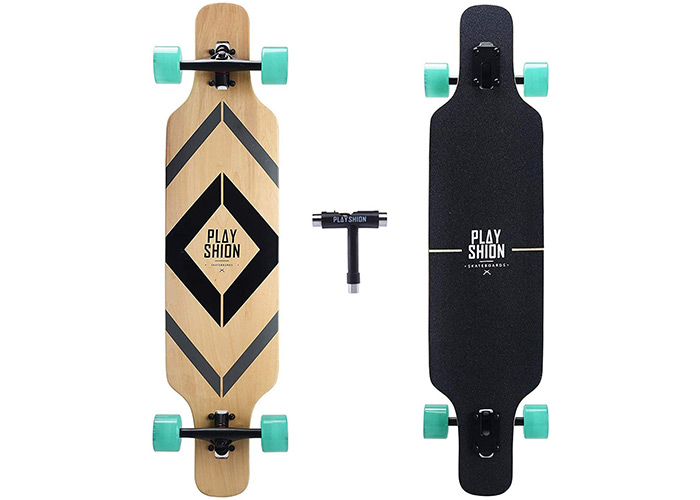 Playshion Freestyle Longboard Skateboard