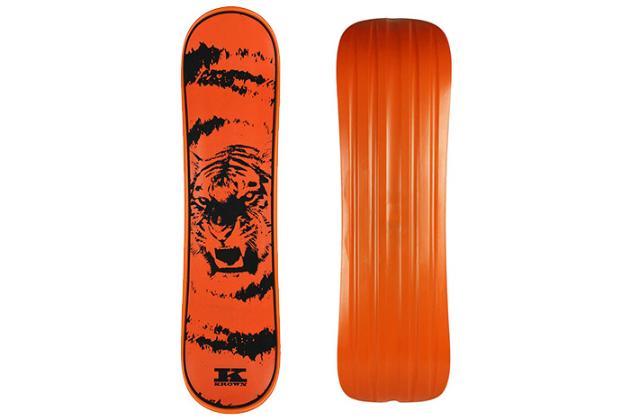 "Krown Snowskate 9"" x 35"" Tiger Orange"
