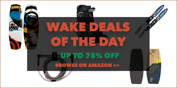 wakeboard deals of the day
