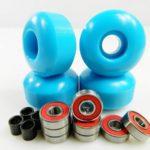 Blank Pro 52mm Skateboard Wheels + ABEC 7 Bearings
