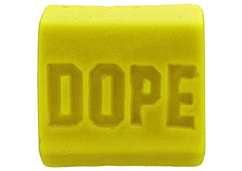 Dope Skate Wax Pineapple Express Yellow Original Formula Skatewax Bar