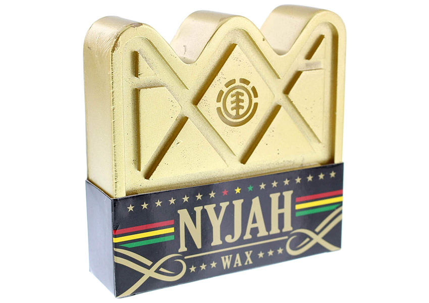The Best Skateboarding Wax - Element Skateboards Nyjah Huston Crown Gold Skate Wax