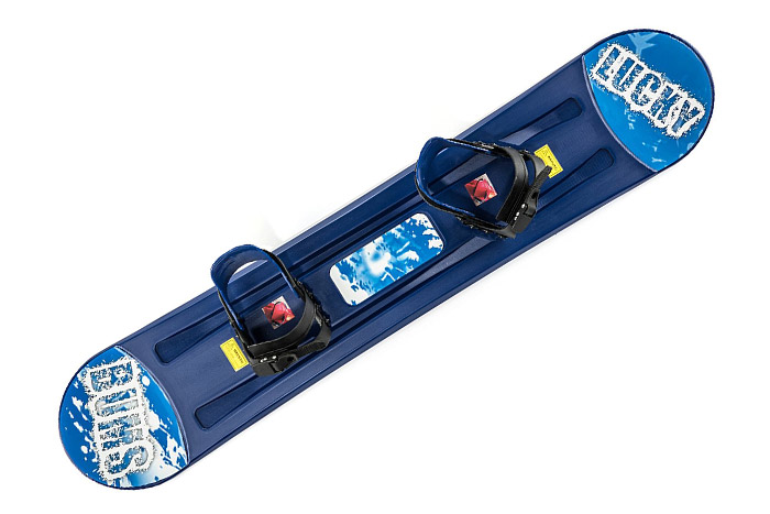 Lucky Bums Kids Plastic Snowboard review