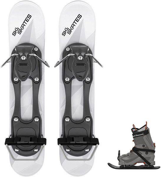 Skiskates - Short Mini Ski Skates for Snow