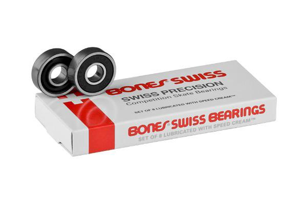 bones ceramics, Bones Original Swiss Competition Skate Bearings