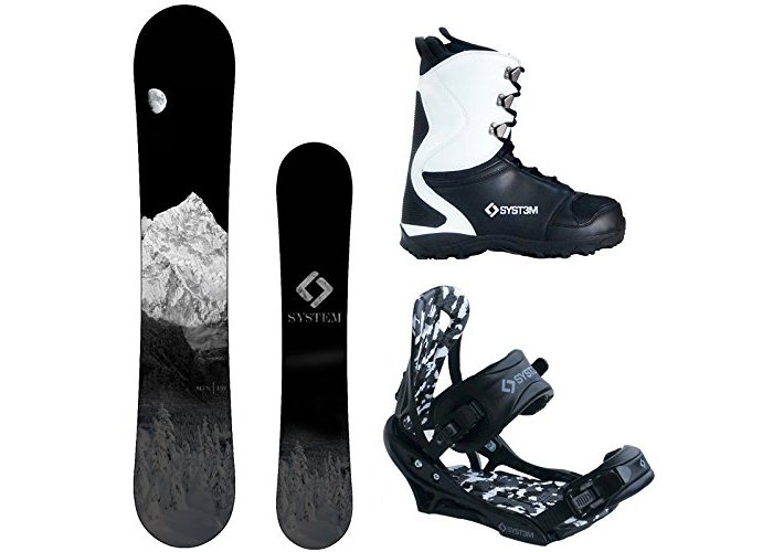 2018 System MTN and APX Complete Men's Snowboard Package Review