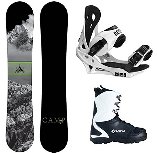 Camp Seven 2020 Valdez Snowboard Summit Bindings & APX Boots Men's Complete Snowboard Package Review - Camp Seven 2020 Valdez