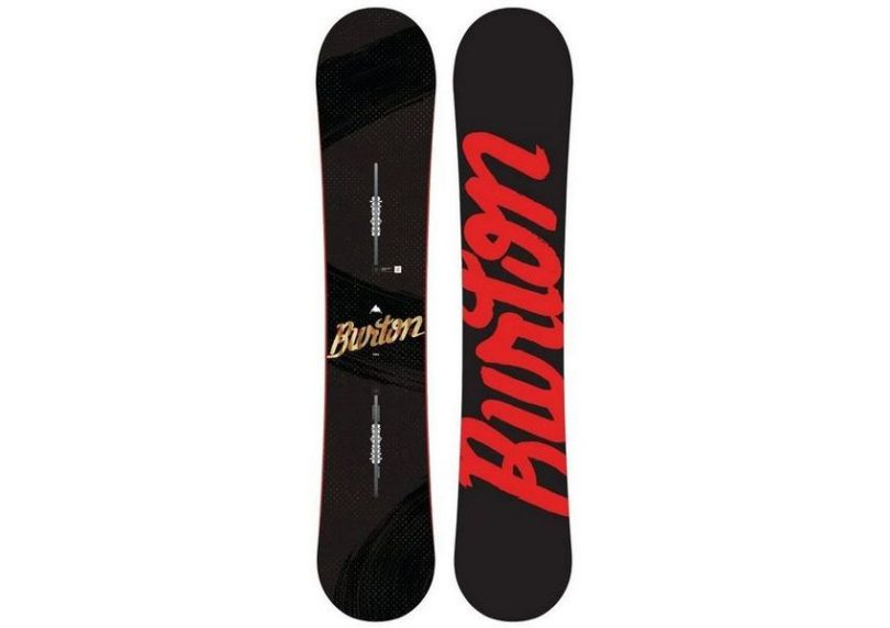 Burton Ripcord Snowboard review - color red black