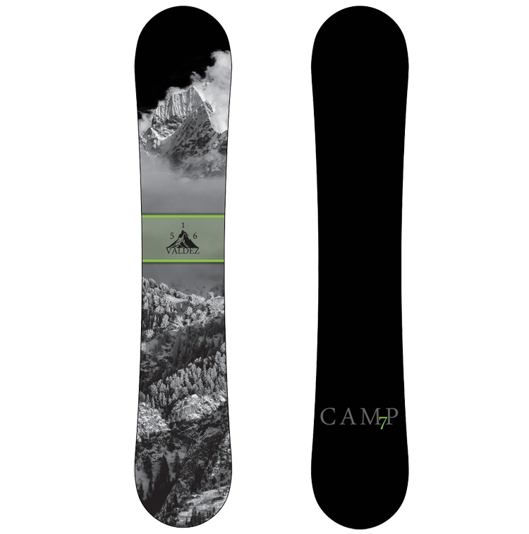 Camp Seven Valdez CRC 2018 Snowboard Review