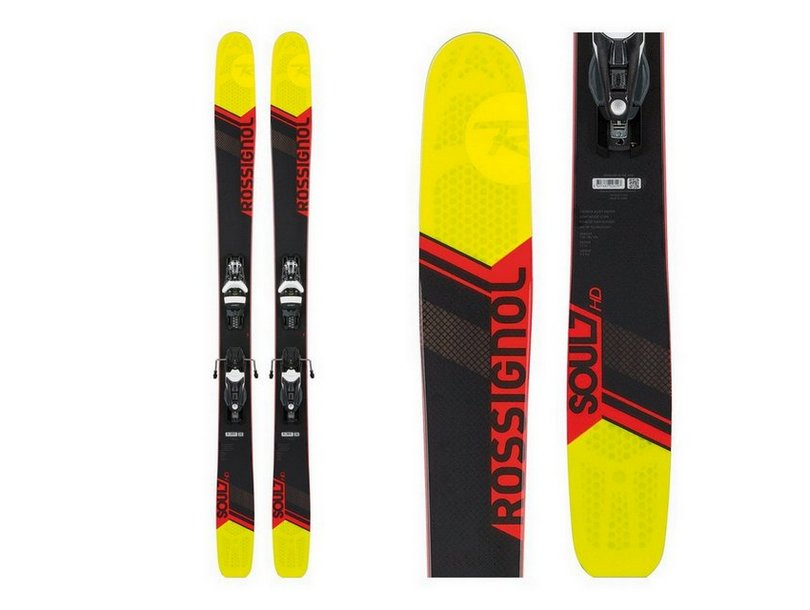 Rossignol Soul 7 HD Skis with Konect 12 Dual Bindings Review