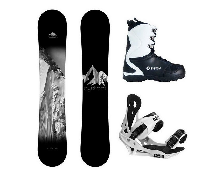 System Timeless and Summit Complete Men's Snowboard Package New 2018 Review