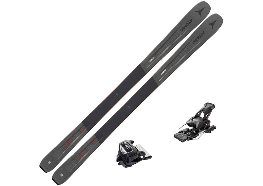 2020 Atomic Vantage 90 TI Skis w/Tyrolia Attack2 13 GW Bindings 2020 review