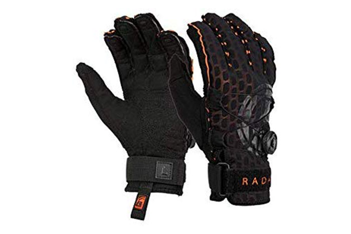 The Best Gloves For Wakeboarding and Water Skiing Radar-Vapor-A-BOA-Inside-Out-Glove